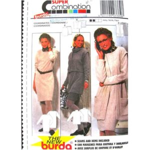 Burda 3389 womens sewing pattern