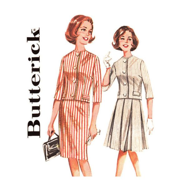 Butterick 2258 jacket and skirt pattern