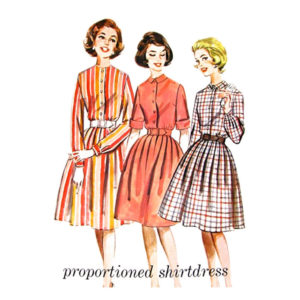 Butterick 2322 dress sewing pattern