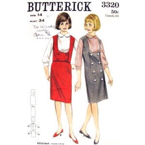 Butterick 3320 womens pattern