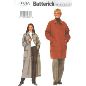 Butterick 3336 coat sewing pattern