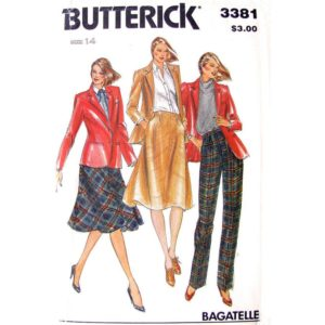 Butterick 3381 womens sewing pattern