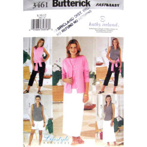 Butterick 3461 sewing pattern