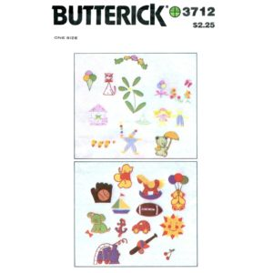Butterick 3712 transfer pattern