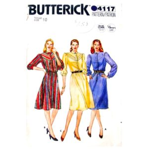 Butterick 4117 womens dress pattern
