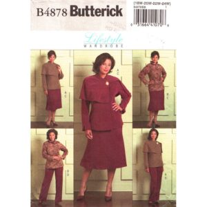 Butterick 4878 womens pattern
