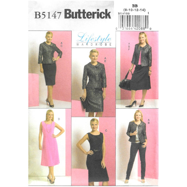 Butterick 5147 wardrobe pattern
