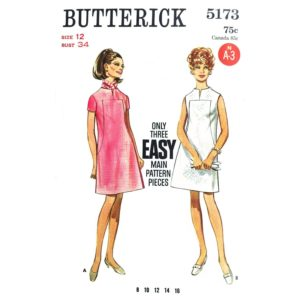 Butterick 5173 dress sewing pattern