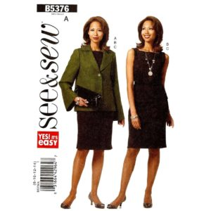 Butterick 5376 womens sewing pattern