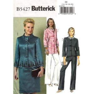 Butterick 5427 womens suit pattern