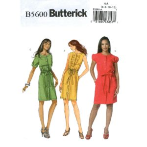 Butterick 5600 dress pattern