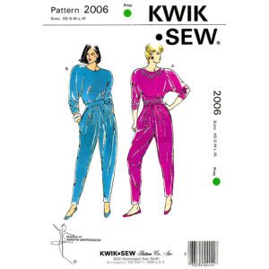 Kwik Sew 2006 sewing pattern