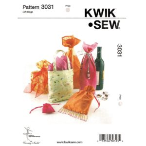 Kwik Sew 3031 gift bag sewing pattern