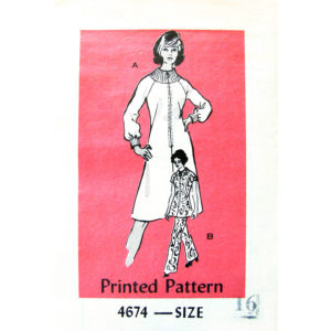 Mail Order 4674 vintage sewing pattern