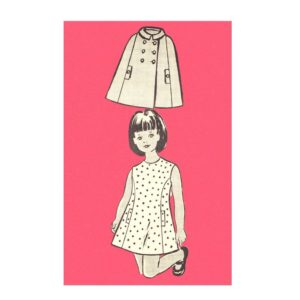 Mail Order 9345 girls sewing pattern