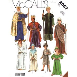 McCalls 2067 nativity pattern