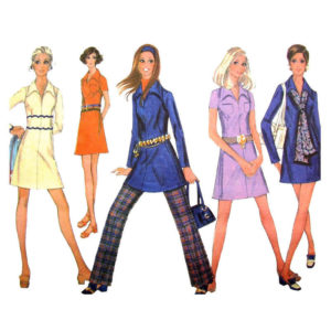 McCalls 2087 womens sewing pattern