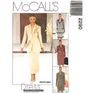 McCalls 2290 sewing pattern