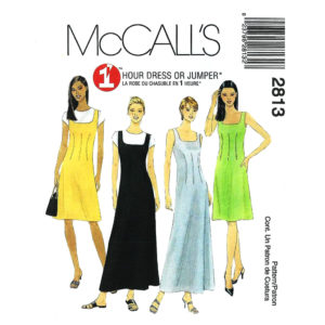 McCalls 2813 womens sewing pattern