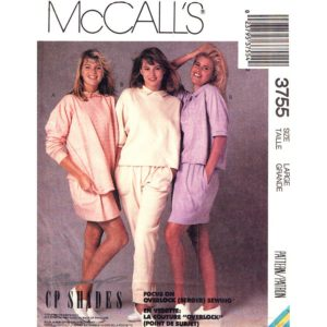 McCalls 3755 top skirt pants pattern
