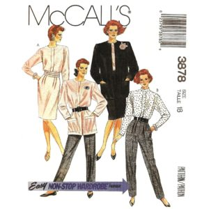 McCalls 3878 womens sewing pattern