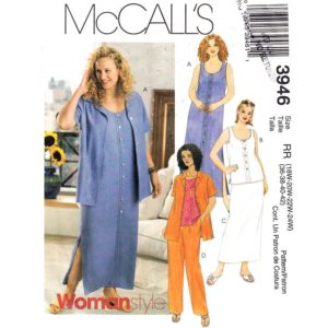 McCalls 3946 womens sewing pattern
