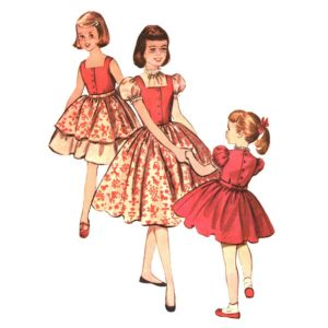 McCalls 4126 girls sewing pattern