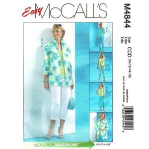 McCalls 4844 wardrobe pattern