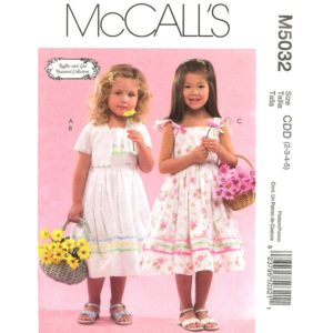 McCalls 5032 girls dress pattern