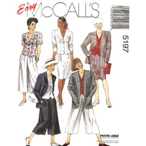 McCalls 5197 sewing pattern