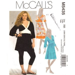 McCalls 5435 dress sewing pattern