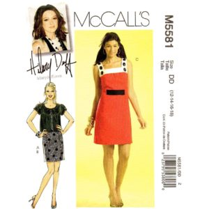 McCalls 5581 jacket and dress pattern
