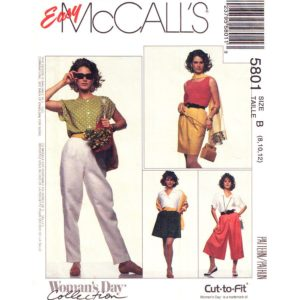 McCalls 5801 womens sewing pattern