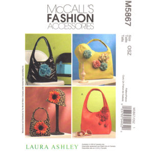 McCalls 5867 bags and hat pattern
