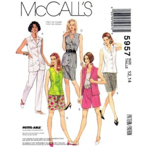 McCalls 5957 womens pattern