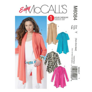 McCalls 6084 womens pattern