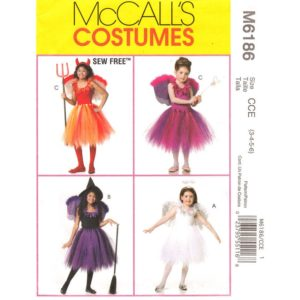 McCalls 6186 girls costume pattern