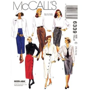 McCalls 6339 skirt sewing pattern