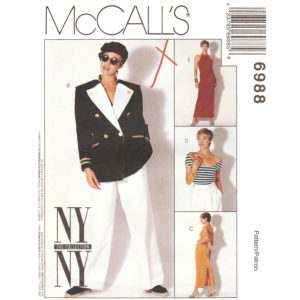 McCalls 6988 womens sewing pattern