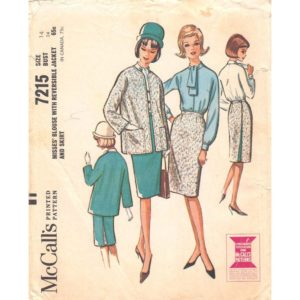 McCalls 7215 womens sewing pattern