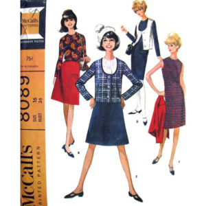 McCalls 8089 womens sewing pattern