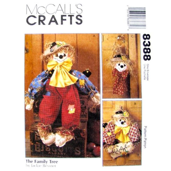 McCalls 8388 fall decor pattern