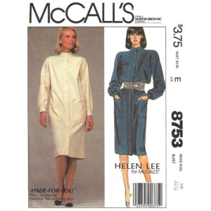 McCalls 8753 sewing pattern