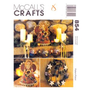 McCalls 8892 holiday decor pattern