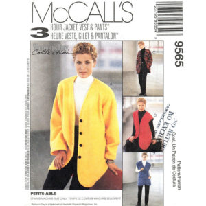 McCalls 9565 womens sewing pattern