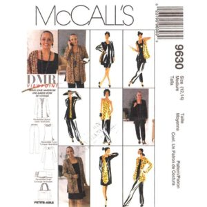 McCalls 9630 wardrobe pattern