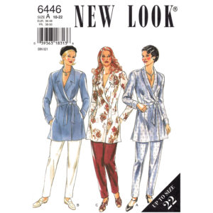 New Look 6446 womens pattern