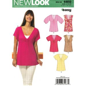 New Look 6810 empire top pattern