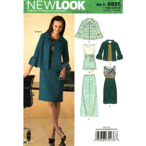 New Look 6835 womens sewing pattern