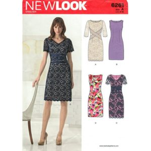 New look 6261 dress sewing pattern